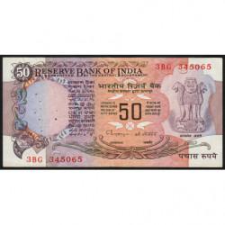 Inde - Pick 84j - 50 rupees - 1998 - Lettre C - Etat : TTB+