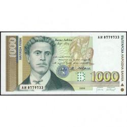 Bulgarie - Pick 105_1 - 1'000 leva - 1994 - Etat : NEUF