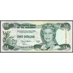 Bahamas - Pick 57 - 1 dollar - 1996 - Etat : NEUF