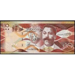 Barbade - Pick 75a - 10 dollars - 02/05/2013 - Etat : NEUF