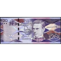 Barbade - Pick 76a - 20 dollars - 02/05/2013 - Etat : NEUF