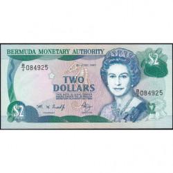 Bermudes - Pick 40Ab - 2 dollars - 06/06/1997 - Série B/4 - Etat : NEUF