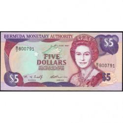 Bermudes - Pick 41d - 2 dollars - 10/06/1997 - Série B/2 - Etat : NEUF