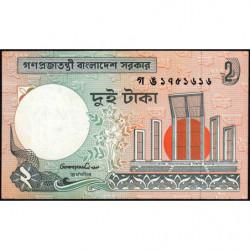 Bangladesh - Pick 6Cc - 2 taka - 1996 - Etat : SUP+