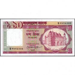 Bangladesh - Pick 26c2 - 10 taka - 1993 - Etat : NEUF