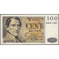 Belgique - Pick 129b - 100 francs - 16/05/1955 - Etat : SUP