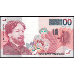 Belgique - Pick 147_1 - 100 francs - 1995 - Etat : NEUF