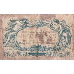 Belgique - Pick 73 - 1'000 francs - 22/05/1913 - Etat : B