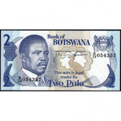 Botswana - Pick 7d - 2 pula - 1991 - Etat : NEUF