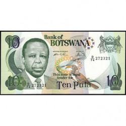 Botswana - Pick 20b - 10 pula - Série D/74 - 2000 - Etat : NEUF