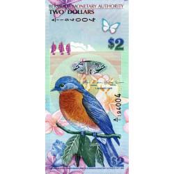 Bermudes - Pick 57b - 2 dollars - 01/01/2009 - Série A/1 - Etat : NEUF