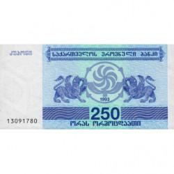Géorgie - Pick 43a - 250 laris - 1993 - Etat : NEUF