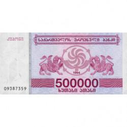 Géorgie - Pick 51 - 500'000 laris - 1994 - Etat : NEUF