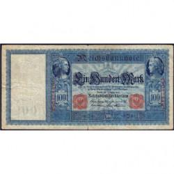 Allemagne - Pick 35 - 100 mark - 07/02/1908 - Série C - Etat : B+