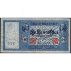 Allemagne - Pick 42 - 100 mark - 21/04/1910 - Série G - Etat : TTB