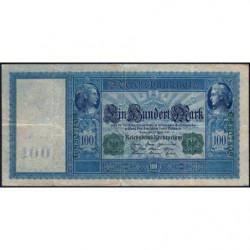 Allemagne - Pick 43 - 100 mark - 21/04/1910 (1918) - Série G - Etat : TTB-