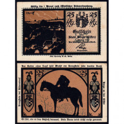 Allemagne - Notgeld - Berga an der Elster - 25 pfennig - 01/10/1921 - Etat : SPL