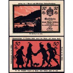 Allemagne - Notgeld - Berga an der Elster - 50 pfennig - 01/10/1921 - Etat : SPL