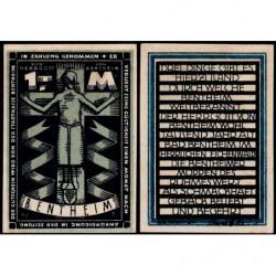 Allemagne - Notgeld - Bentheim - 1 mark - 1921 - Etat : NEUF