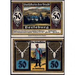 Allemagne - Notgeld - Berleburg  (Bad Berleburg) - 50 pfennig - 12/03/1921 - Etat : SPL