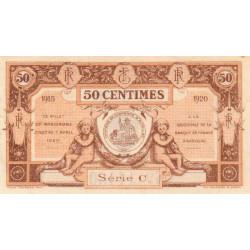 Aurillac (Cantal) - Pirot 16-1a - 50 centimes - Série C - 1915 - Etat : SUP