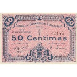Chateauroux - Pirot 46-18 - 50 centimes - 02/12/1918 - Etat : SUP+