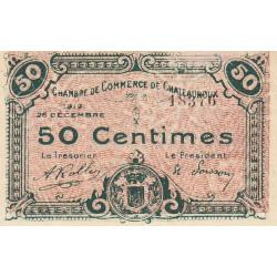 Chateauroux - Pirot 46-20 - 50 centimes - 1919 - Etat : SPL