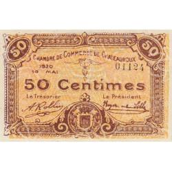 Chateauroux - Pirot 46-22 - 50 centimes - 1920 - Etat : SUP