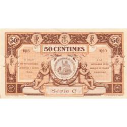 Aurillac (Cantal) - Pirot 16-1b - Série C - 50 centimes - 1915 - Etat : SPL