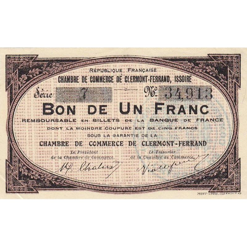 Billet des chambres de commerce clermont ferrand - Chambre du commerce clermont ferrand ...