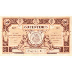 Aurillac (Cantal) - Pirot 16-1b - 50 centimes - Série E - 1915 - Etat : SUP