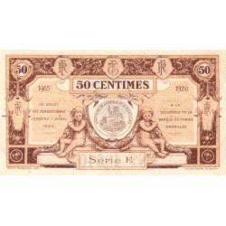 Aurillac (Cantal) - Pirot 16-1d-E - 50 centimes - 1915 - Etat : SUP