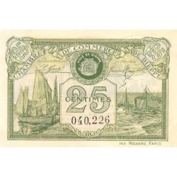 Dieppe - Pirot 52-10 - 25 centimes - 1920 - Etat : SPL