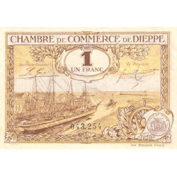 Dieppe - Pirot 52-16 - 1 franc - Etat : NEUF