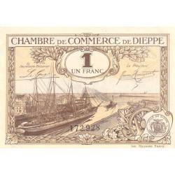 Dieppe - Pirot 52-24 - 1 franc - 1920 - Etat : SPL