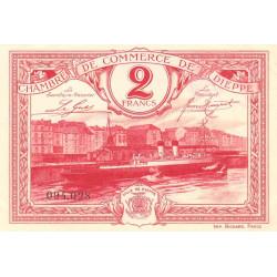 Dieppe - Pirot 52-26 - 2 francs - 1920 - Etat : SUP+