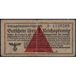 Allemagne - Camp de prisonniers - 1 reichspfennig - Série 3 - 1939/1940 - Etat : TB+