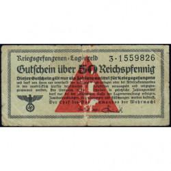Allemagne - Camp de prisonniers - 50 reichspfennig - Série 3 - 1939/1940 - Etat : TB-