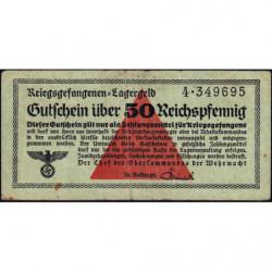 Allemagne - Camp de prisonniers - 50 reichspfennig - Série 4 - 1939/1940 - Etat : TB+