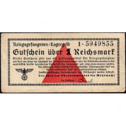 Allemagne - Camp de prisonniers - 1 reichsmark - Série 1 - 1939 - Etat : TTB+
