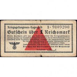 Allemagne - Camp de prisonniers - 1 reichsmark - Série 1 - 1939 - Etat : TB