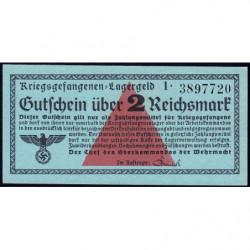 Allemagne - Camp de prisonniers - 2 reichsmark - Série 1 - 1939 - Etat : NEUF