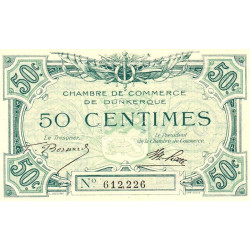 Dunkerque - Pirot 54-01 - 50 centimes - Etat : SUP+