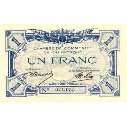 Dunkerque - Pirot 54-05a - 1 franc - Etat : SPL
