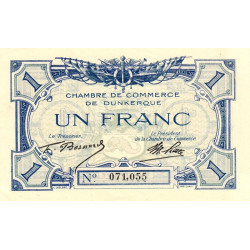 Dunkerque - Pirot 54-5a - 1 franc - Etat : SPL