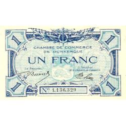 Dunkerque - Pirot 54-5 - 1 franc - Sans date - Etat : SUP+ à SPL