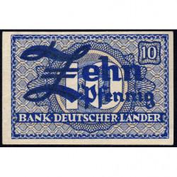 Allemagne RFA - Pick 12_1 - 10 pfennig - 1948 - Etat : NEUF