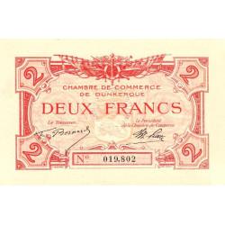 Dunkerque - Pirot 54-9 - 2 francs - Sans date - Etat : SUP+