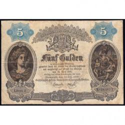 Hessen - Grand-Duché de Hessen - Pick S 268 - 5 gulden - 01/07/1869 - Etat : TB+