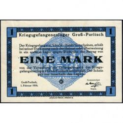 Allemagne - Camp de prisonniers - Gross-Poritsch - 1 mark - 01/02/1916 - Etat : SUP+